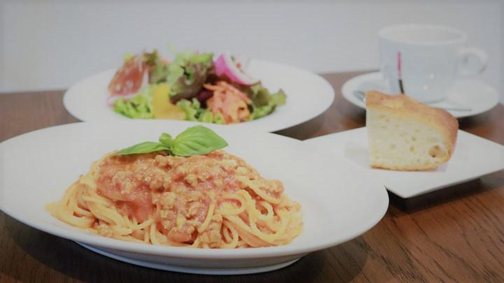 ランチパスタセット<br />元住吉のイタリアン 炭火肉料理メインの郷土料理 CERCHIA -チェルキア-