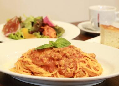 ランチパスタセット元住吉のイタリアン 炭火肉料理メインの郷土料理 CERCHIA -チェルキア-